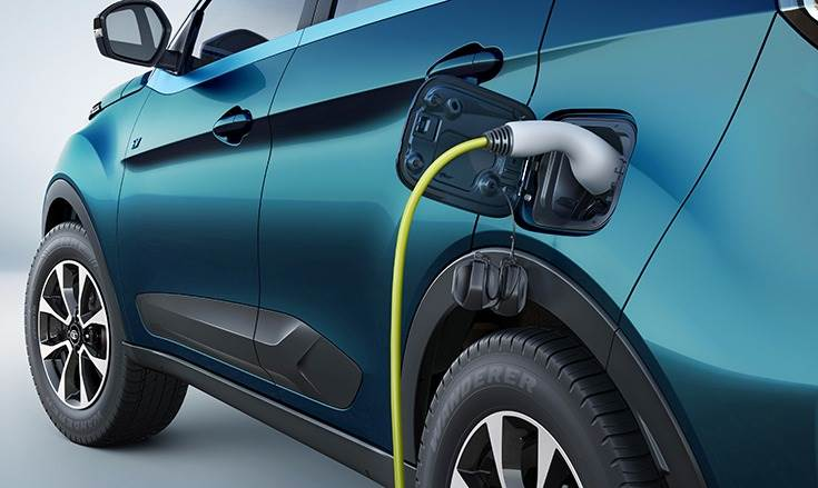 Using a DC fast charger can help quick-charge the Nexon EV from 0-80 percent in an hour.