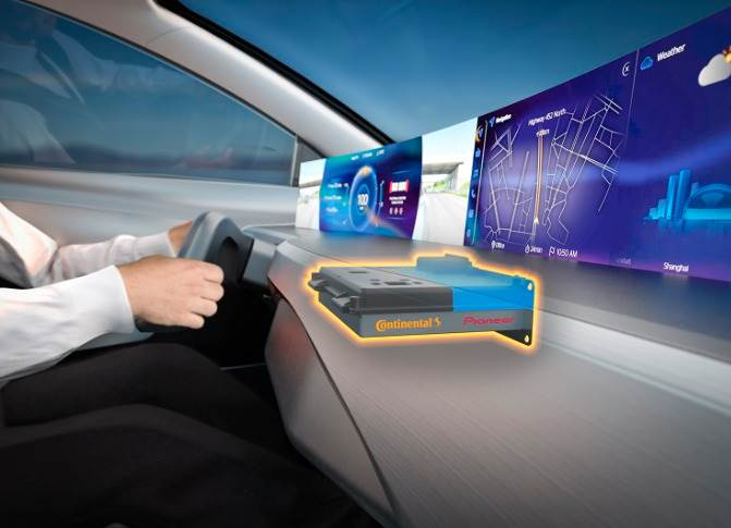 Continental and Pioneer agree on strategic partnership to bring new user experience in vehicle cockpit.