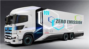Cruising range will be set at approximately 600km, aiming to meet high standards in both environmental performance and practicality as a commercial vehicle.