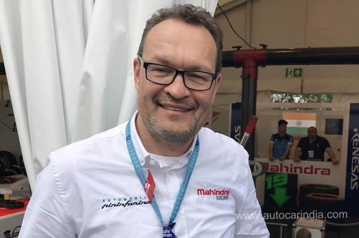 Michael Perschke joined the Mahindra Group-owned Automobili Pininfarina on July 1 2018 and helped create the EV manufacturer