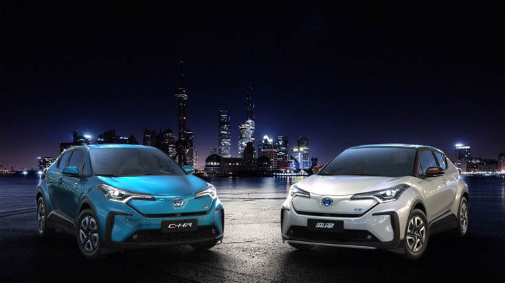 The C-HR and IZOA will be the first BEVs to be launched in China under the Toyota brand.