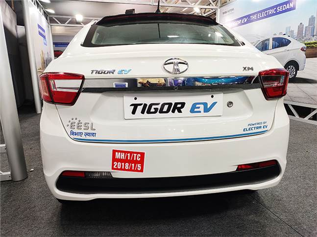A new E-Tigor with a 180km driving range (40km more than the current one) is part of the four new EVs.