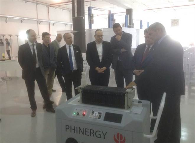 Phinergy claims its air-electrode technology has enabled it to master the metal-air reaction process and develop an aluminium-air system with a lifespan of thousands of working hours (Twitter: Canada in Israel)