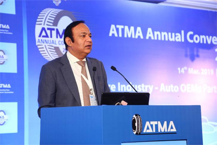 Anuj Kathuria, president, Global Trucks, Ashok Leyland, presented a keynote on the emerging scenario in India's commercial vehicle segment.