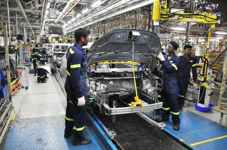 Ford India, which has two plants (one each in Chengalpattu in Tamil Nadu and Sanand, Gujarat) has a combined production capacity of 440,000 PVs per annum and 610,000 engines per annum.