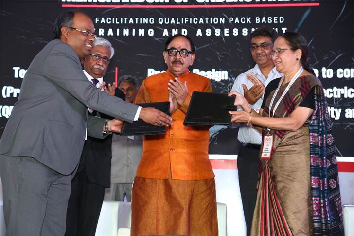 Launch of , Skill Gap Study Report by Dr Mahendra Nath Pandey.