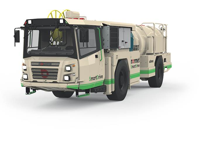 In the first phase of the partnership, Hindustan Zinc will deploy three of Normet SmartDrive EV's – a Spraymec, an Agitator, and a Charmecin its underground mines.
