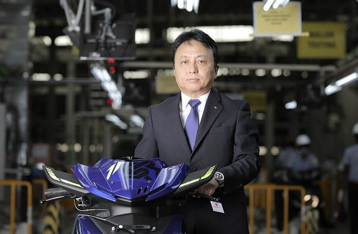 """Motofumi Shitara: """"We already have a dedicated team at our Japan HQ, working on an all-new electric vehicle platform for India and other global markets."""""""
