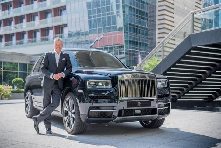 "Torsten Müller-Otvos, CEO, Rolls-Royce Motor Cars: ""Worldwide demand last year for our Cullinan SUV has driven this success and is expected to stabilise in 2020."""