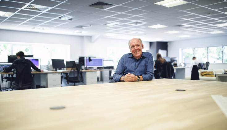 "Ian Callum: ""In today's modern world, collaboration is the catalyst for new ideas, and this is our ethos and inspiration, both within our team and as we look to work with partners in the future."""