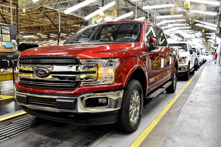 Kansas City Assembly Plant. On April 14, Ford On April 14, Ford plans to start building vehicles at the Dearborn Truck Plant, Kentucky Truck Plant, Kansas City Assembly Plant's Transit line and Ohio Assembly Plant.