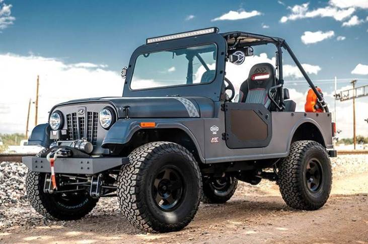 The original Roxor, manufactured by Mahindra Automotive North America at Auburn Hills, USA, was unveiled in 2018.