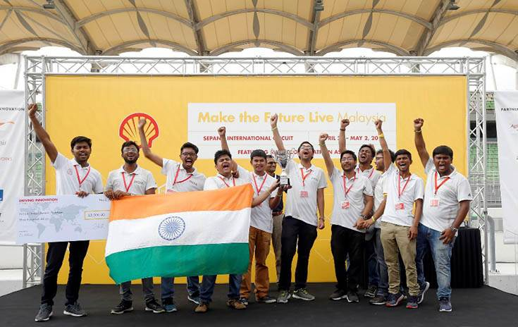 Competing against 108 teams, Team Averera from IIT-BHU took second position in the battery electric prototype category. It also won the Vehicle Design (Prototype) Award and a cash prize of US$ 3,000.