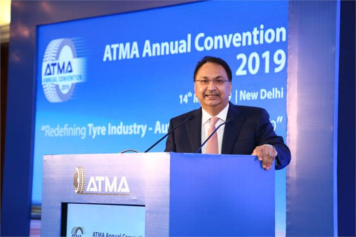"Vikram Kirloskar: ""There are three major challenges facing the auto and tyre industry – energy security of the country, environment issues and the challenge of Make in India."""