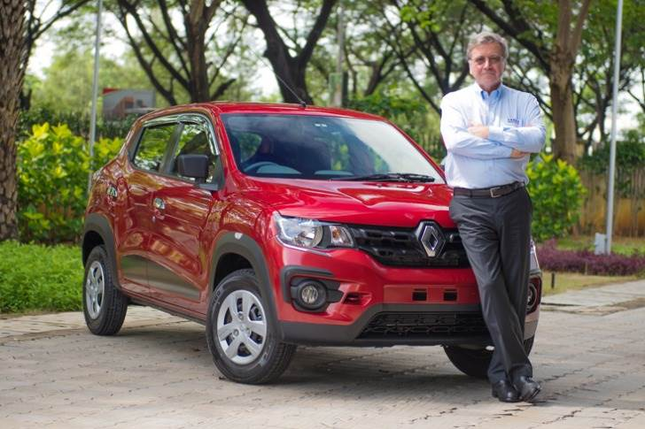 Detourbet was also responsible for getting Indian component suppliers to think out of the box to develop innovative and cost-efficient parts for the Renault Kwid.