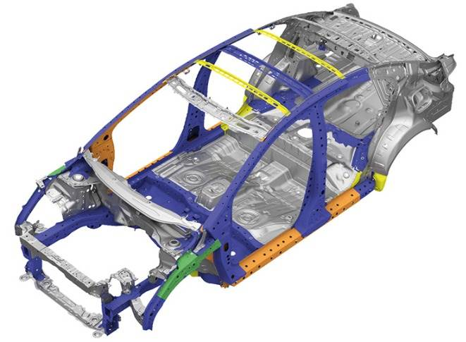 Honda says it has used high-tensile steel to enhance the structural rigidity of the car.