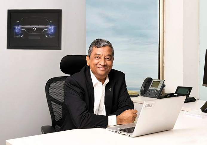 """Venkatram Mamillapalle: """"I will focus on the rural market in 2021 and I am confident there will be potential for the Triber and the new SUV (Kiger)."""""""