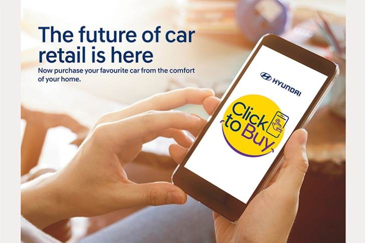 On April 8, Hyundai announced its all-India 'Click to Buy' end-to-end online sales platform covering over 500 dealerships. This platform offers a seamless, convenient and safe retail experience.