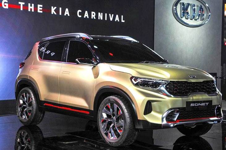 Kia Sonet will be pitted directly against the Hyundai Venue, with which it will share the same platform and running gear.