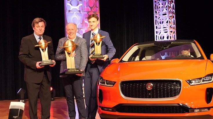 Jaguar I-Pace the big winner at 2019 World Car Awards – 'World Car of the Year', 'World Car Design of the Year' and 'World Green Car'.