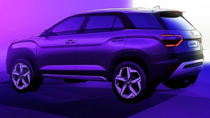 Premium Alcazar seven-seater SUV to be officially revealed on April 6.