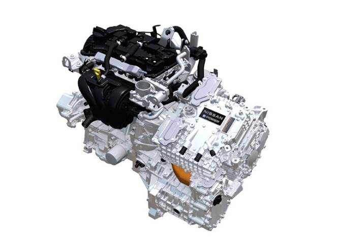 The e-Power systemuses a highly efficient petrol engine to generate electricity for the electric motor that propels the vehicle.