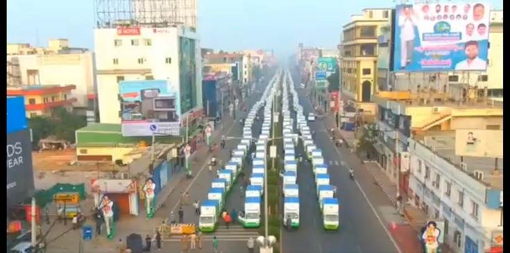 In total, 700 vehicles were provided from the ST Corporation; 2,300 vehicles from SC Corporation, 3,800 from BC Corporation, 660 from Minorities Corporation, and 1,800 vehicles from EWEB Corporation to unemployed youth.