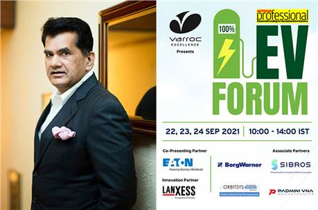Amitabh Kant: 'Financial viability of EVs has made them more accessible to the masses.'
