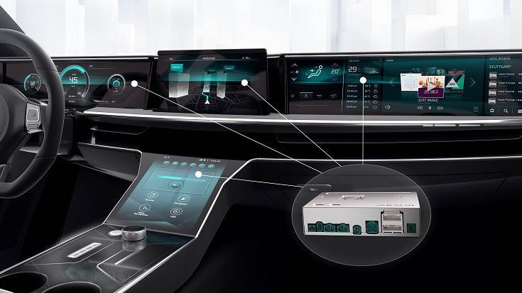 Bosch says at present, premium vehicles feature more than 100 individual control units, and even compact vehicles have between 30 and 50. Such powerful computers will allow us to significantly reduce these numbers.