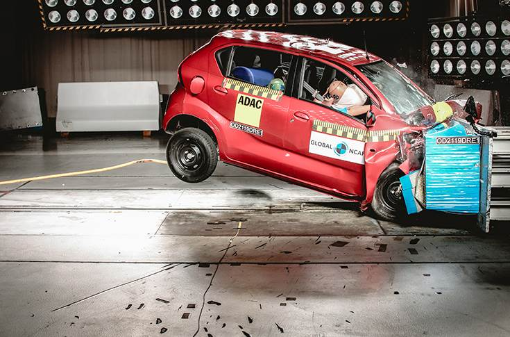 Datsun Redigo gets one star for safety from GNCAP