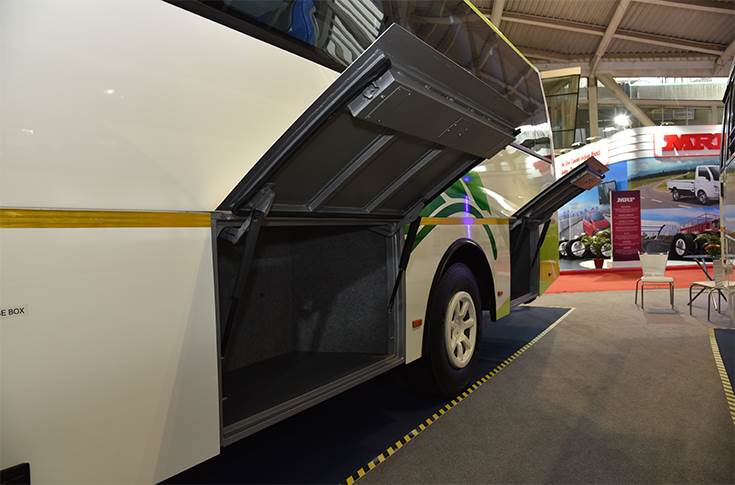 Ashok Leyland Freedom luggage bay