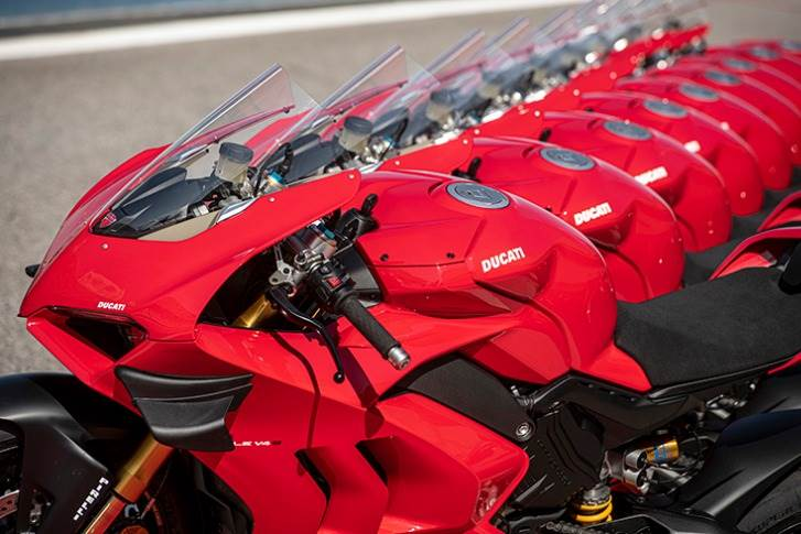 The Panigale was the best-selling super sports bike in the world for the second consecutive year, with a market share of 25 percent.