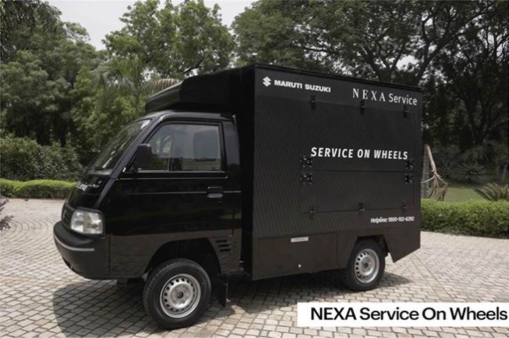 The fully-equipped Eeco van or Super Carry pick-up are capable of performing periaodic maintenance, basic repairs and washing.