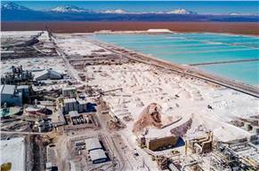 The Democratic Republic of the Congo (DRC) and Chile are the world's biggest producers of cobalt and lithium as well as the EU's biggest suppliers. (Image: Sociedad Química y Minera de Chile)