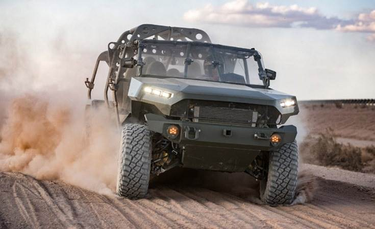 The GM Defense ISV is founded on the 2020 Chevrolet Colorado ZR2 platform and leverages 90 percent commercial off-the-shelf parts