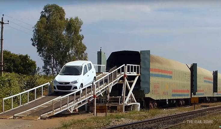 Maruti Suzuki India, which began using the Indian Railways network in March 2014 to transport its cars from its plants in NCR, has rail-freighted over 750,000 cars since then.