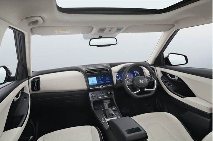 The new Creta's dashboard and AC vent layout are unique – it features a 10.25-inch infotainment screen that is landscape-orientated unlike the portrait-layout seen on the ix25.