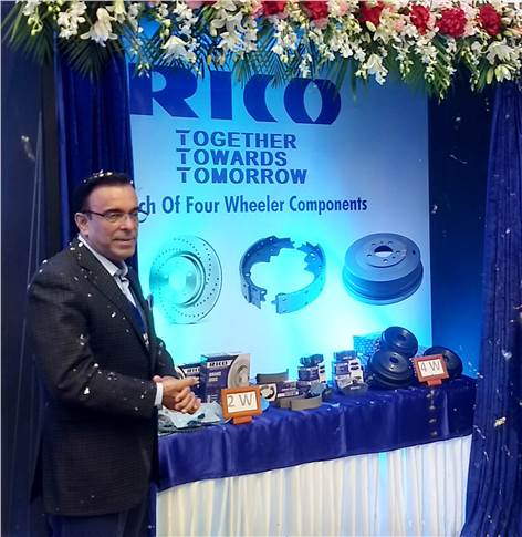 Arvind Kapur, CEO and MD, Rico Auto Industries.