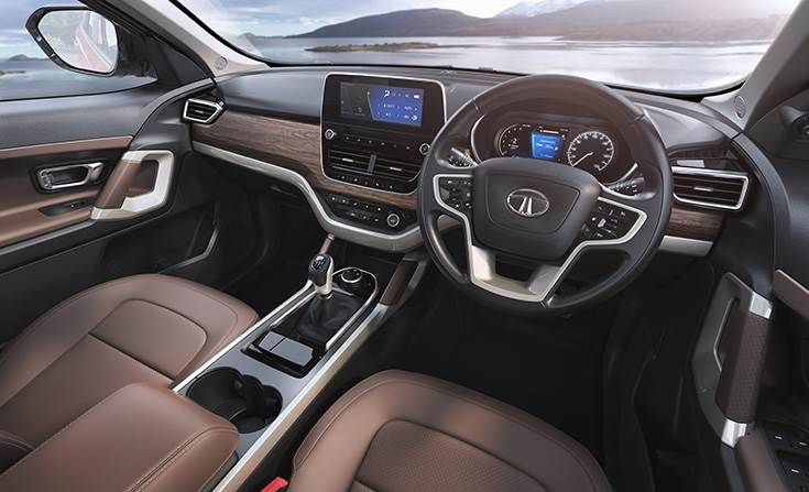 Tata Harrier gets a plush, creature-comforts-laden interior.