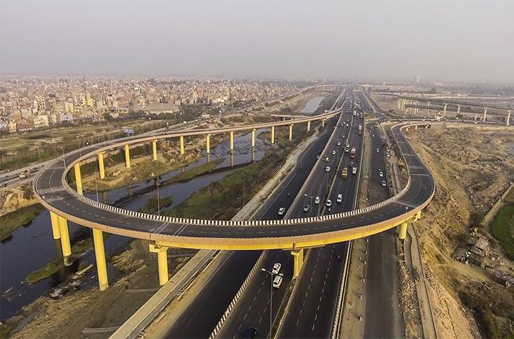 Delhi has more than 90 flyovers. Twenty-five of them were constructed in the past five to six years and are in good condition.