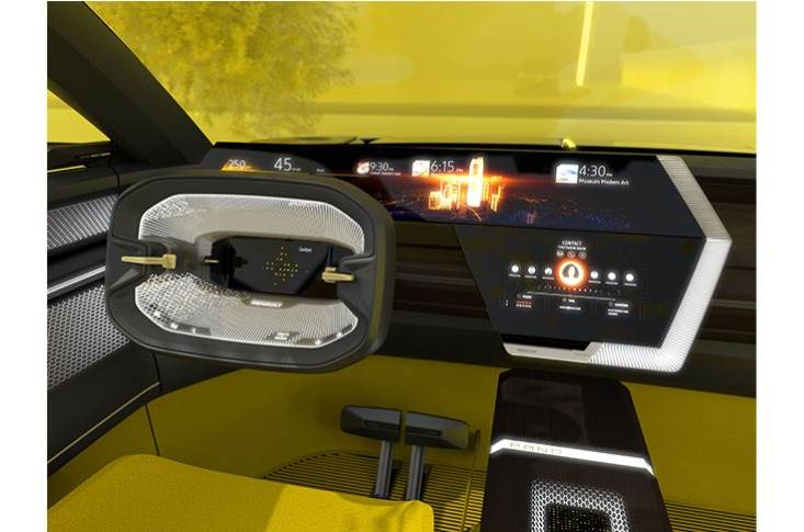 Acting like a virtual personal assistant, the artificial intelligence on the Renault Morphoz concept can be called up and managed in three ways: by touching the screens or console, by hand gestures or by voice.
