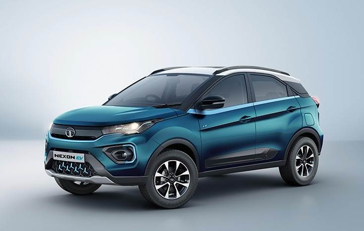 The Tata Nexon EV has a 30.2kWh lithium-ion battery pack that powers an electric motor that develops 129hp and 245 Nm of torque.