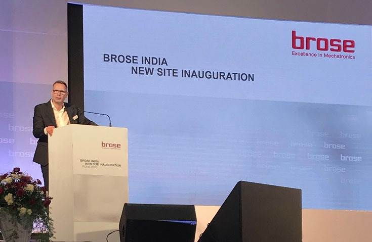 "Ulrich Schrickel, CEO, Brose Group: ""This investment is not only a commitment to the Indian market; it is also a strategic move for the Brose Group."""