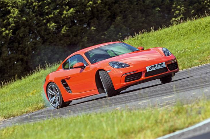 Electrified Cayman and Boxster will be offered from 2022