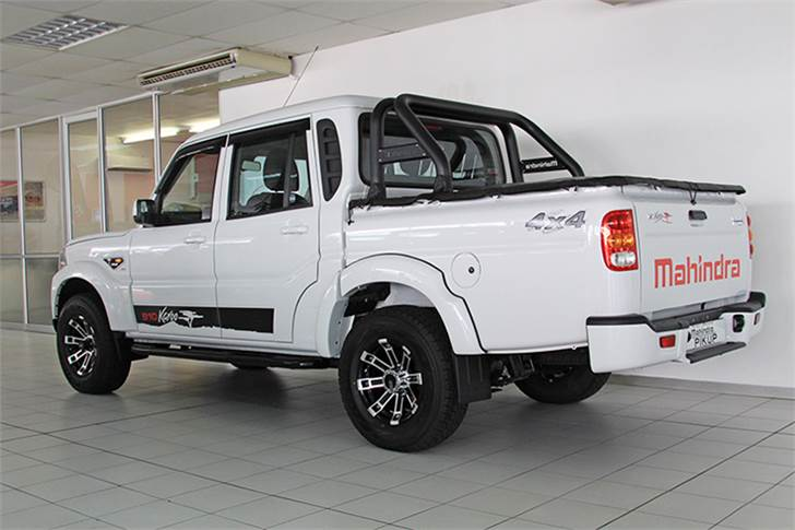 Growing demand for the Pik Up attributed to the Karoo Edition, which offers a host of additional cosmetic enhancements and is assembled in Mahindra South Africa