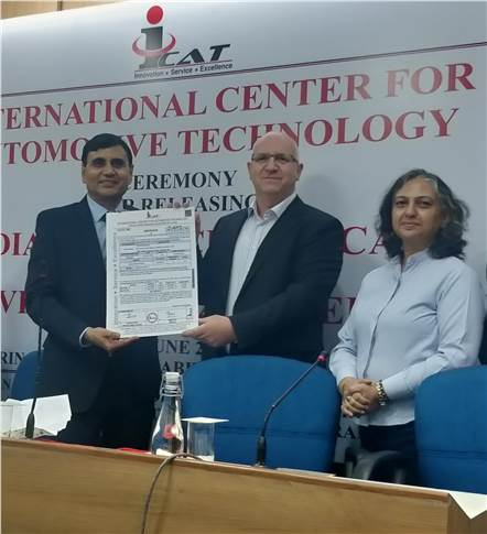 Hero MotoCorp today received India's first BS-VI compliance certification  for Two-Wheelers from International Centre for Automotive Technology (ICAT) in New Delhi