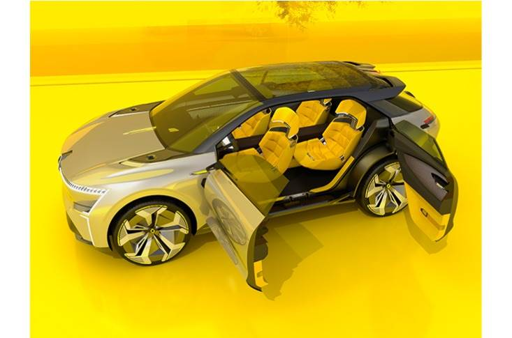 An adaptive passenger compartment for driver and passengers.