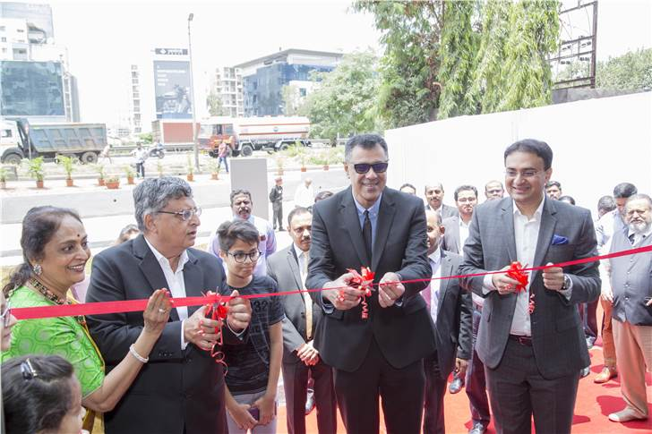 The new facility was inaugurated by Rohit Suri, president and MD, Jaguar Land Rover India; Vikram Modi, MD and Vivek Modi, Director, Ace Perkins