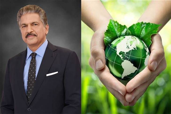 """Anand Mahindra: """"Linking business to a larger purpose of caring for people and the planet so as to positively impact their lives will be the magic mantra for business success."""""""
