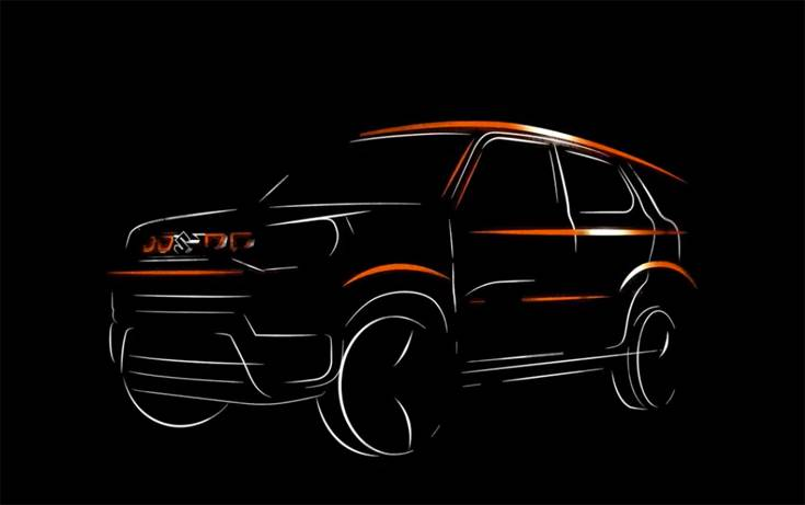 Maruti Suzuki has released a teaser of the S-Presso mini-SUV, which is to be launched on September 30. The new model will be sold through Maruti Suzuki